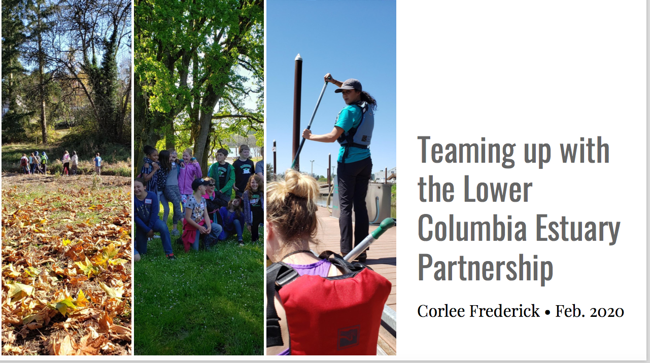 Teaming up with the Lower Columbia Partnership