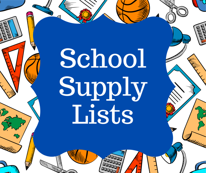 Click for Supply Lists Pre-K-2nd