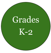 Green circle grades K-2