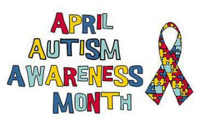 Awareness to Autism during the month of April