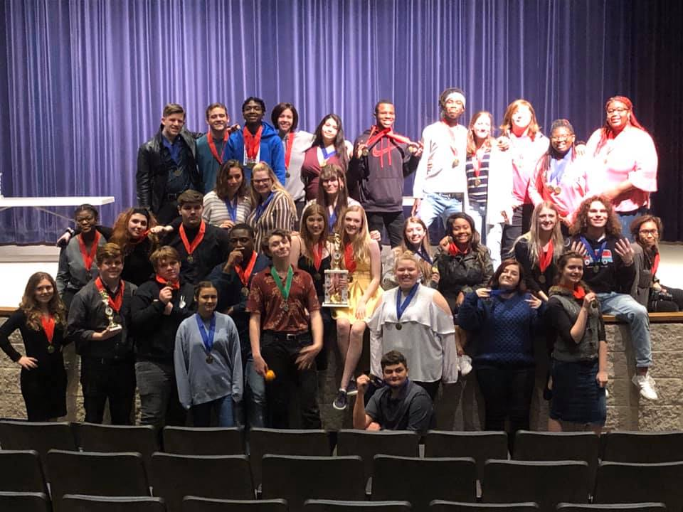 Mobile County students performed at Trumbauer Theatre Festival.
