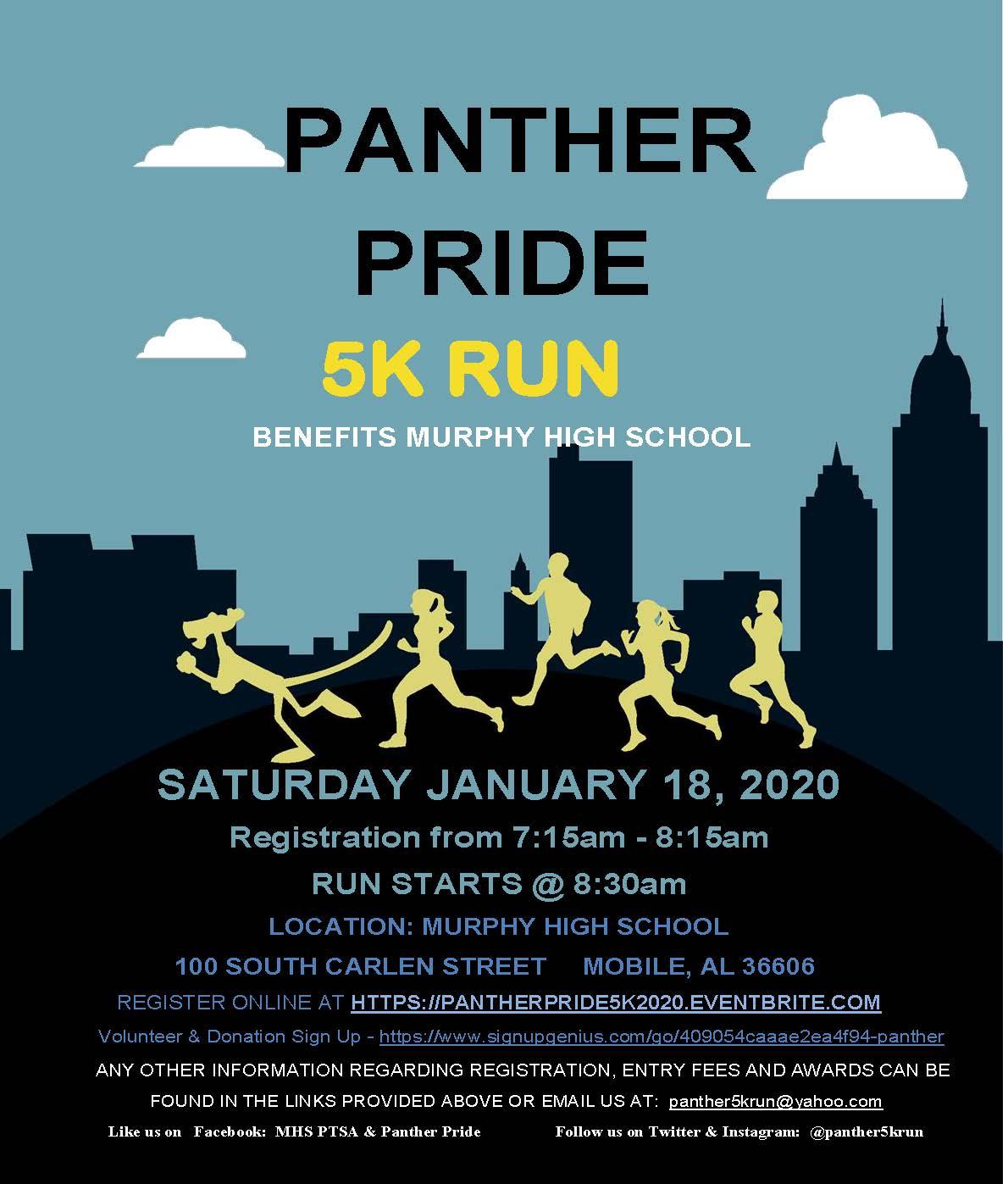 Panther Pride 5K