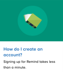 Account Instructions - Remind