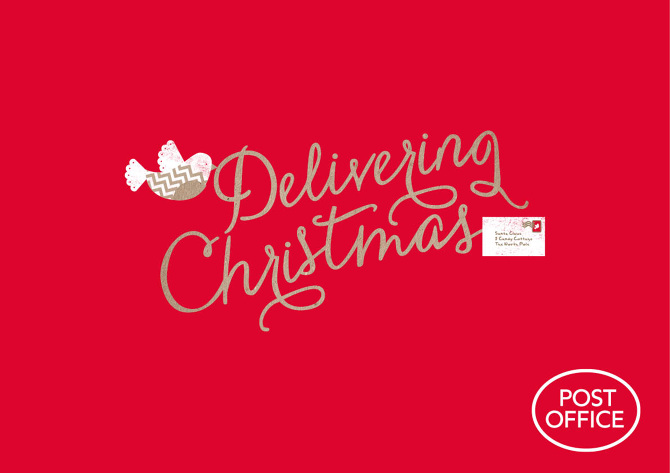 Christmas Post Office clipart