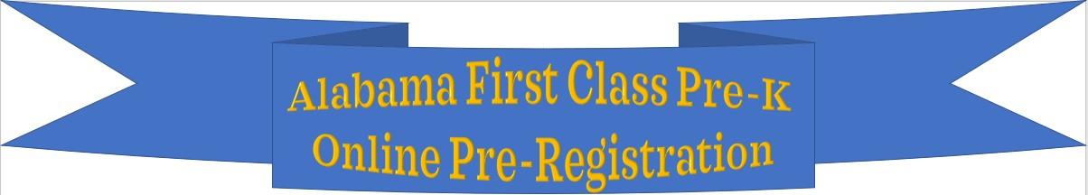 Pre-K Online Registration Information