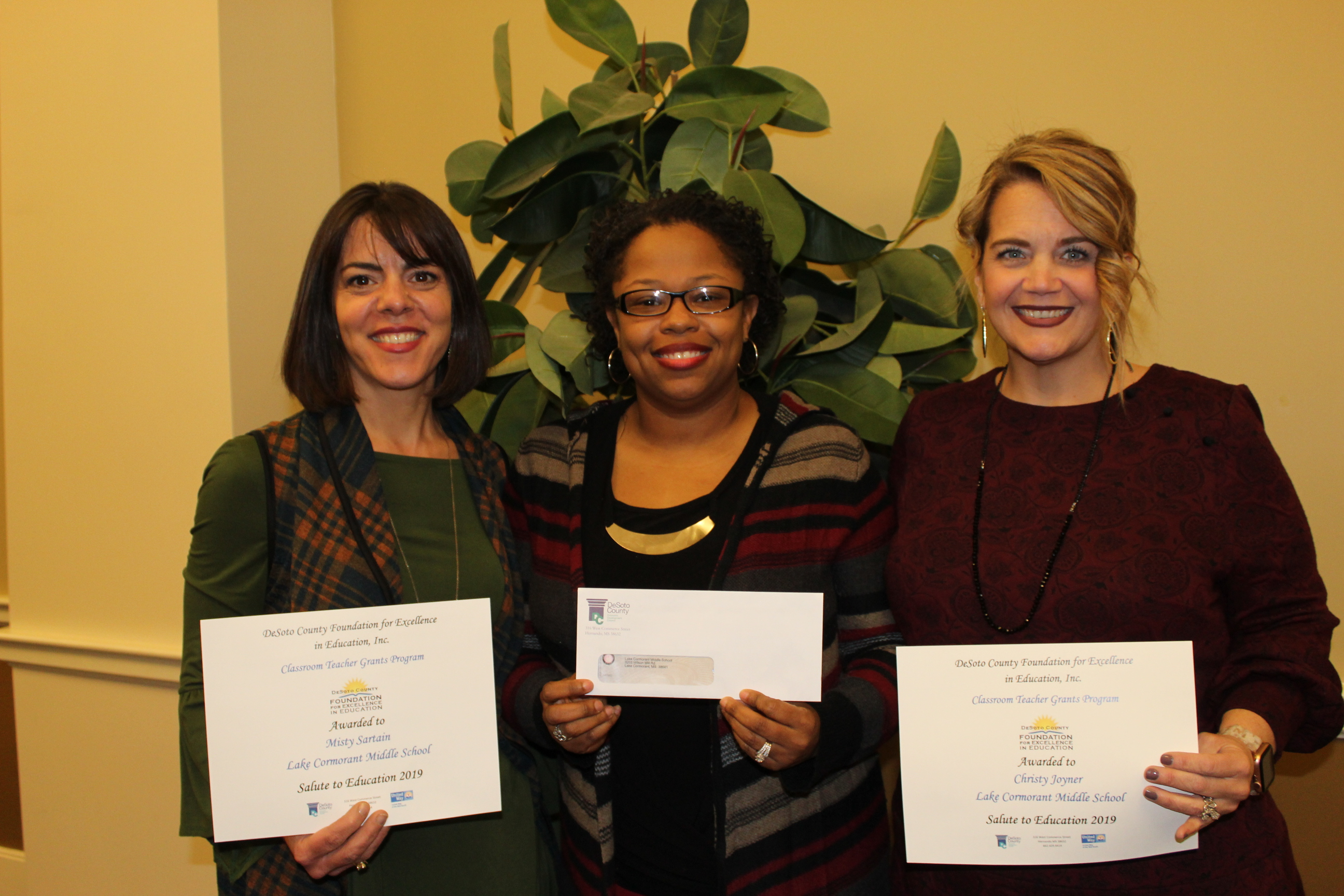 Foundation for Excellence in Education grant winners