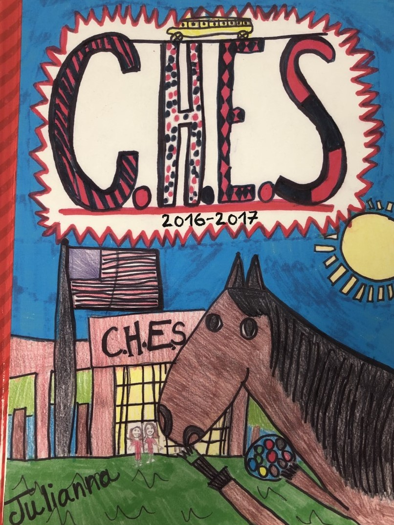 CHES Yearbook cover