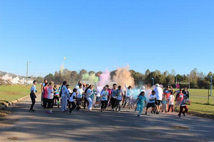 Diabetes Color Run Fall 2018