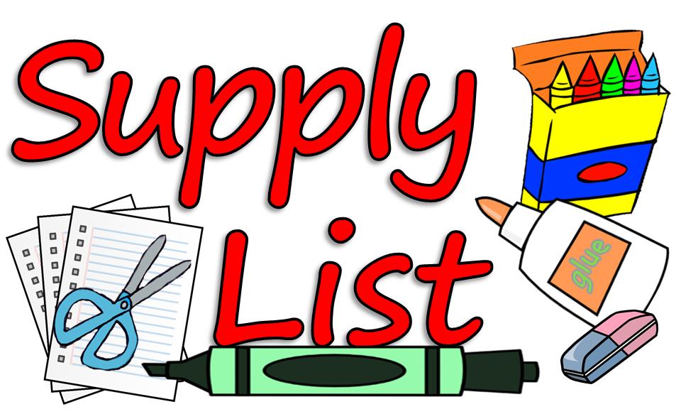Alt = Supply List