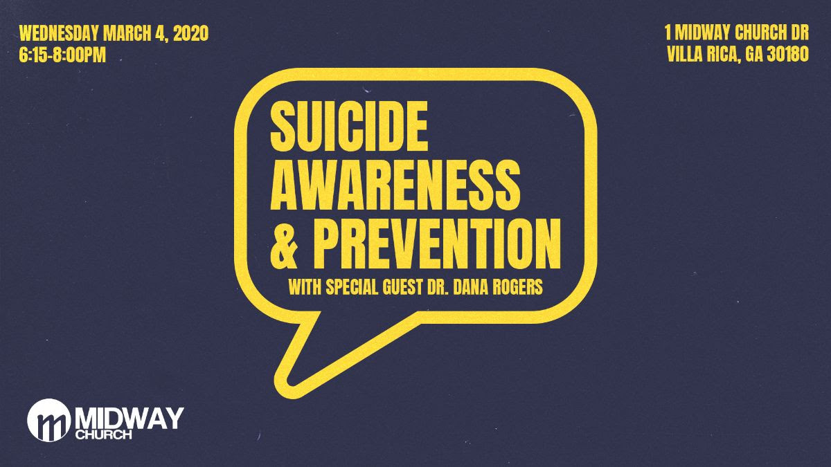 Suicide Awareness & Prevention Seminar