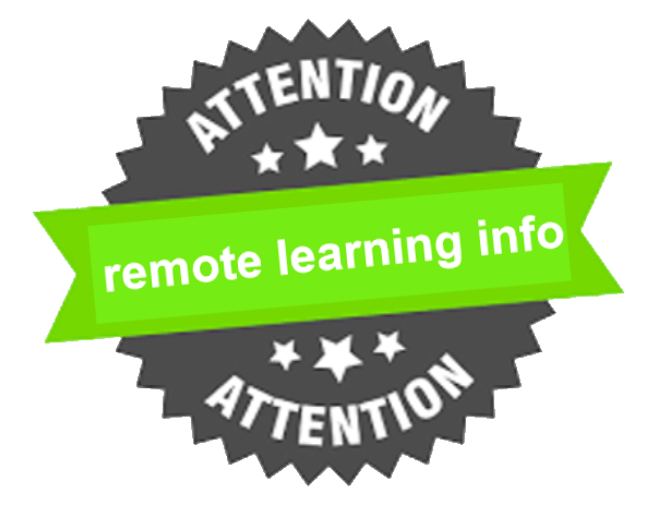 remote learning info