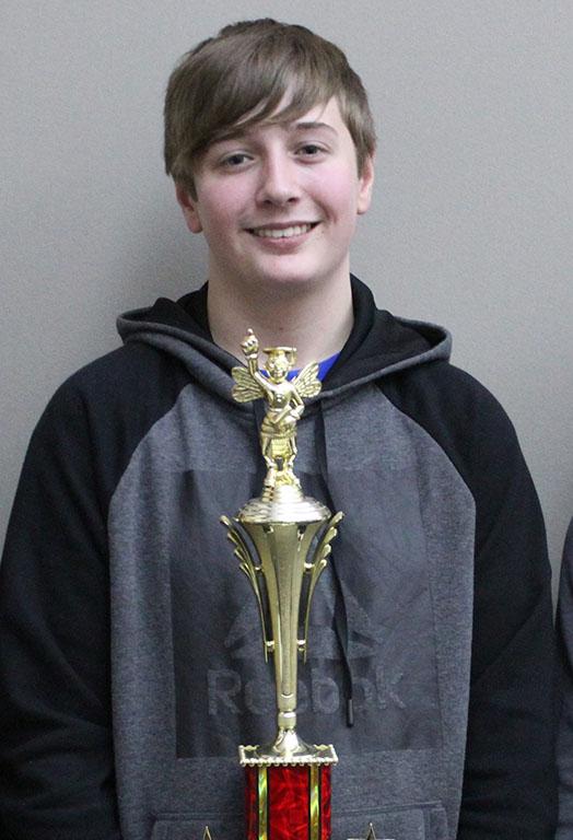 8th grader, Jaden Morris