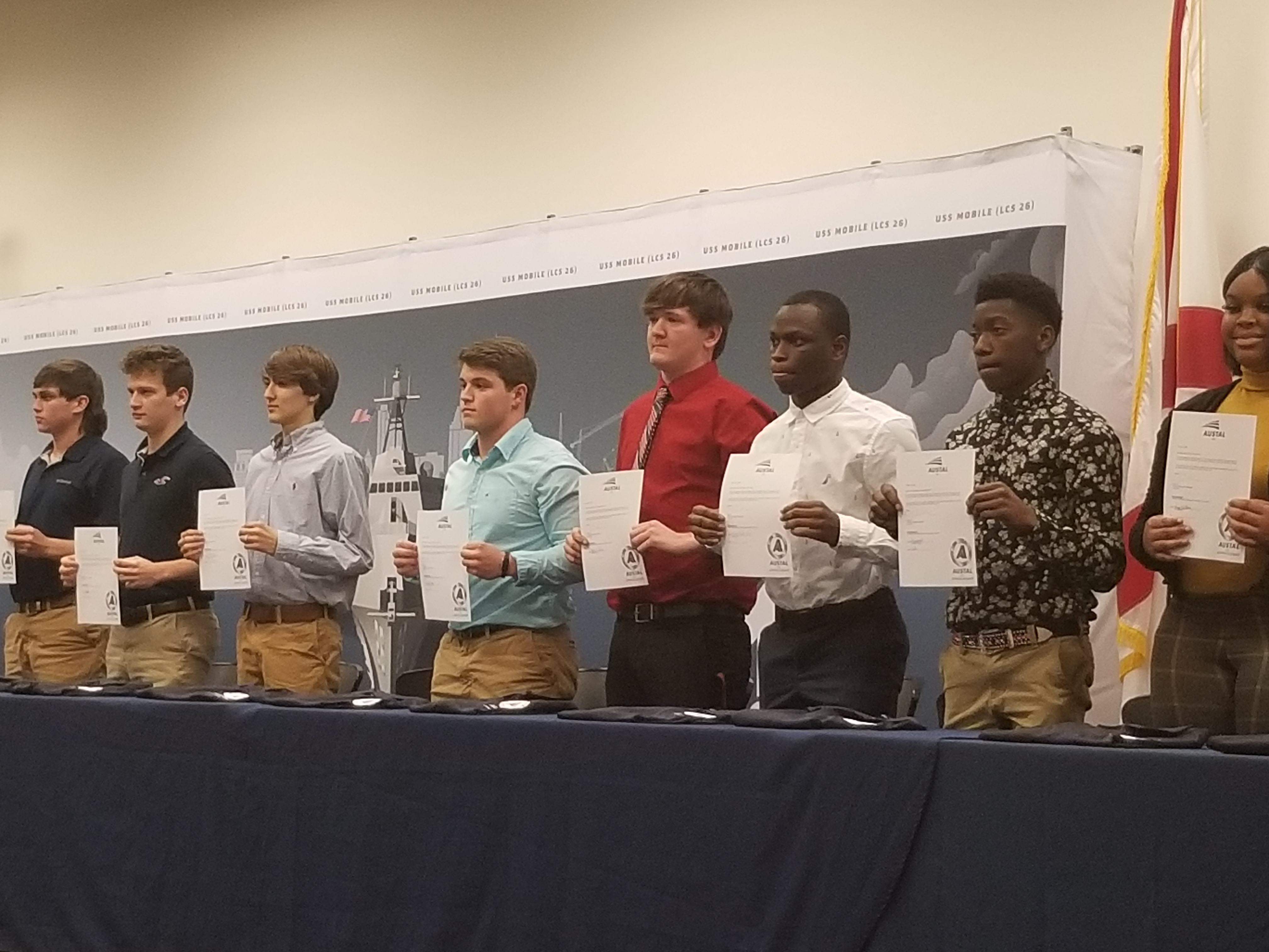 Austal signing day