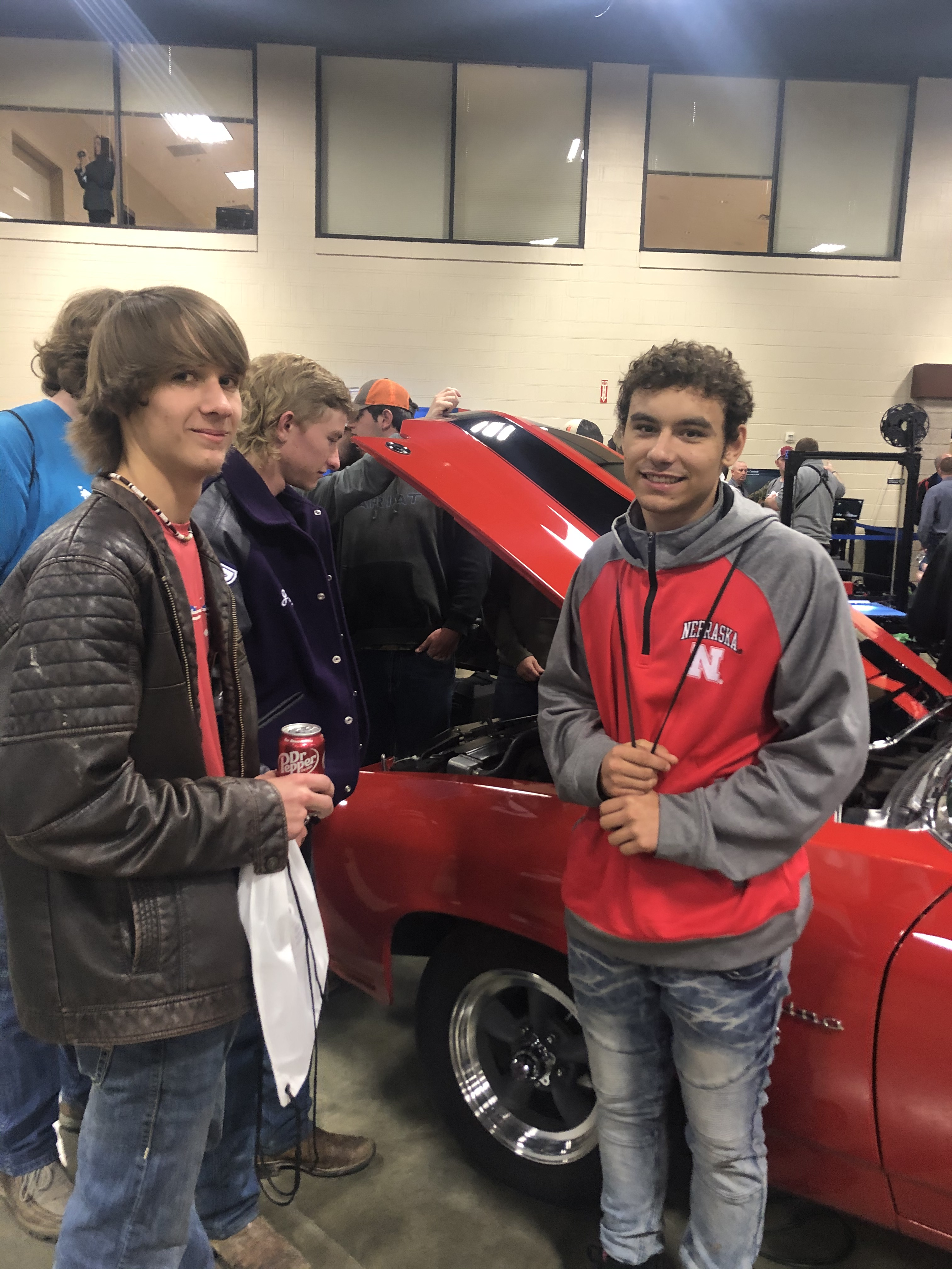 students at manufacturing day