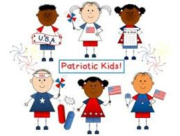 Patriotic Kids!