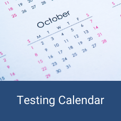 District and State Testing Calendar
