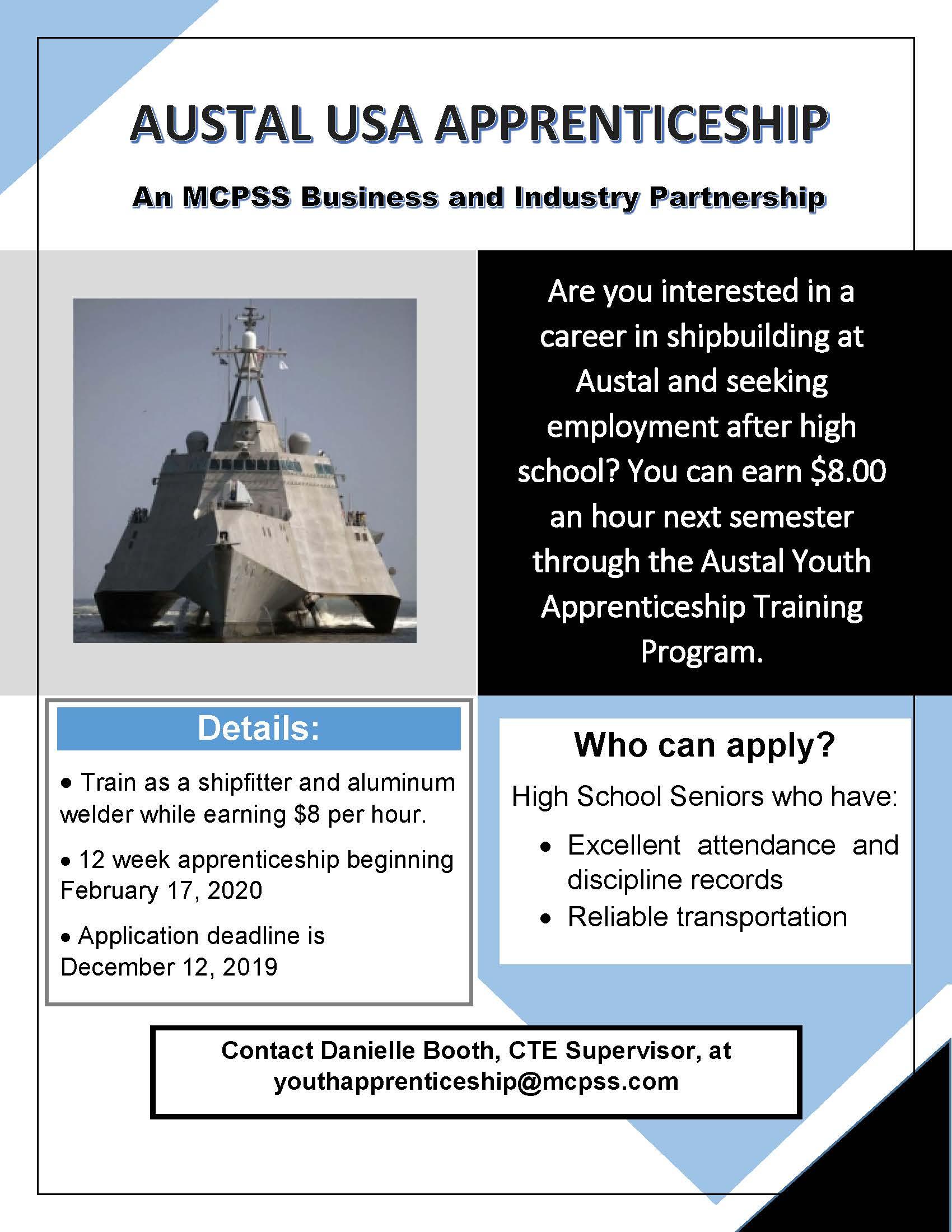 Austal Apprenticeship Information