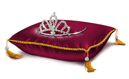 Pillow with Crown