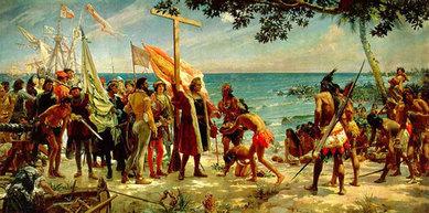Columbus meets Natives