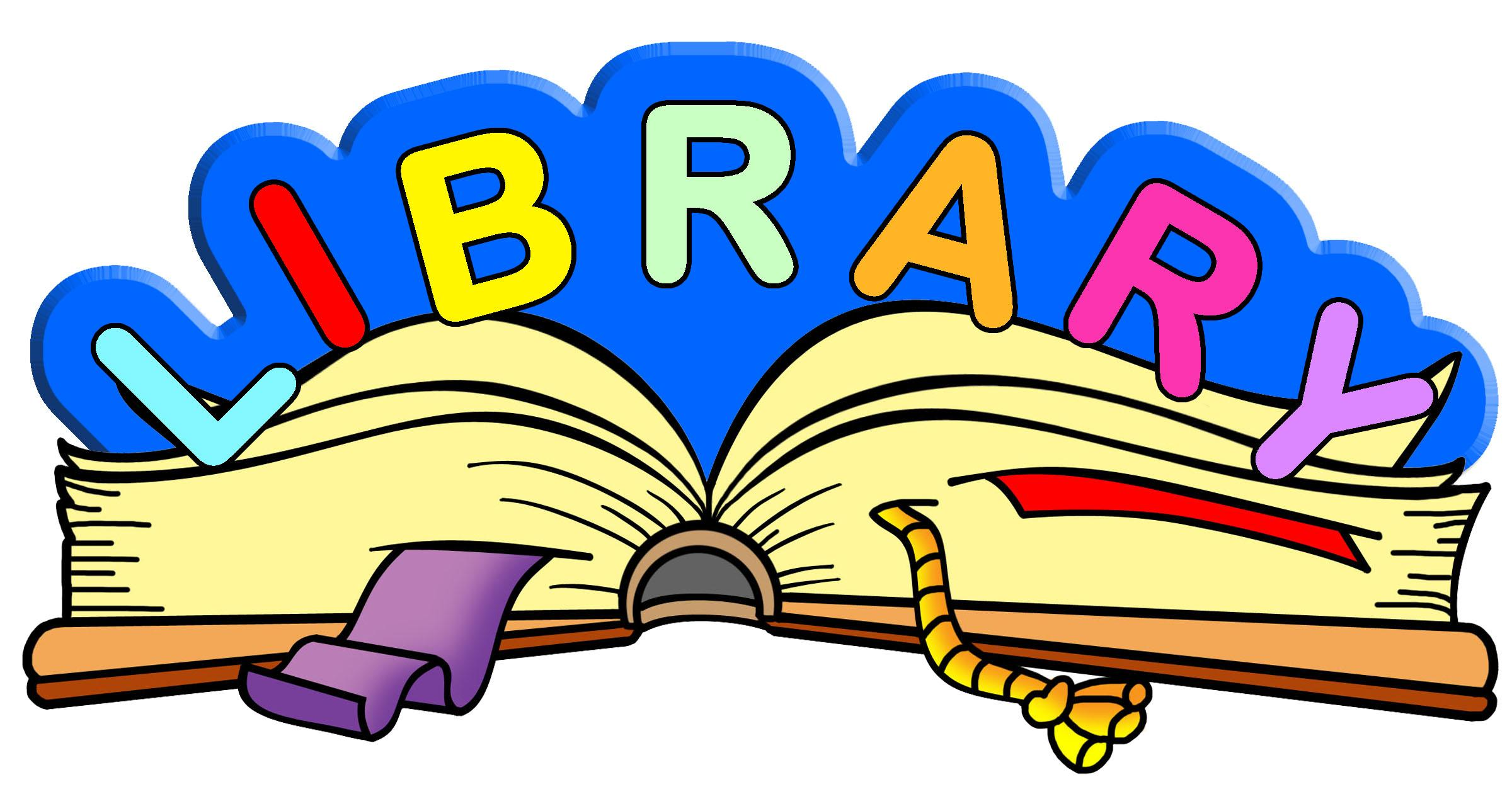 Library word image