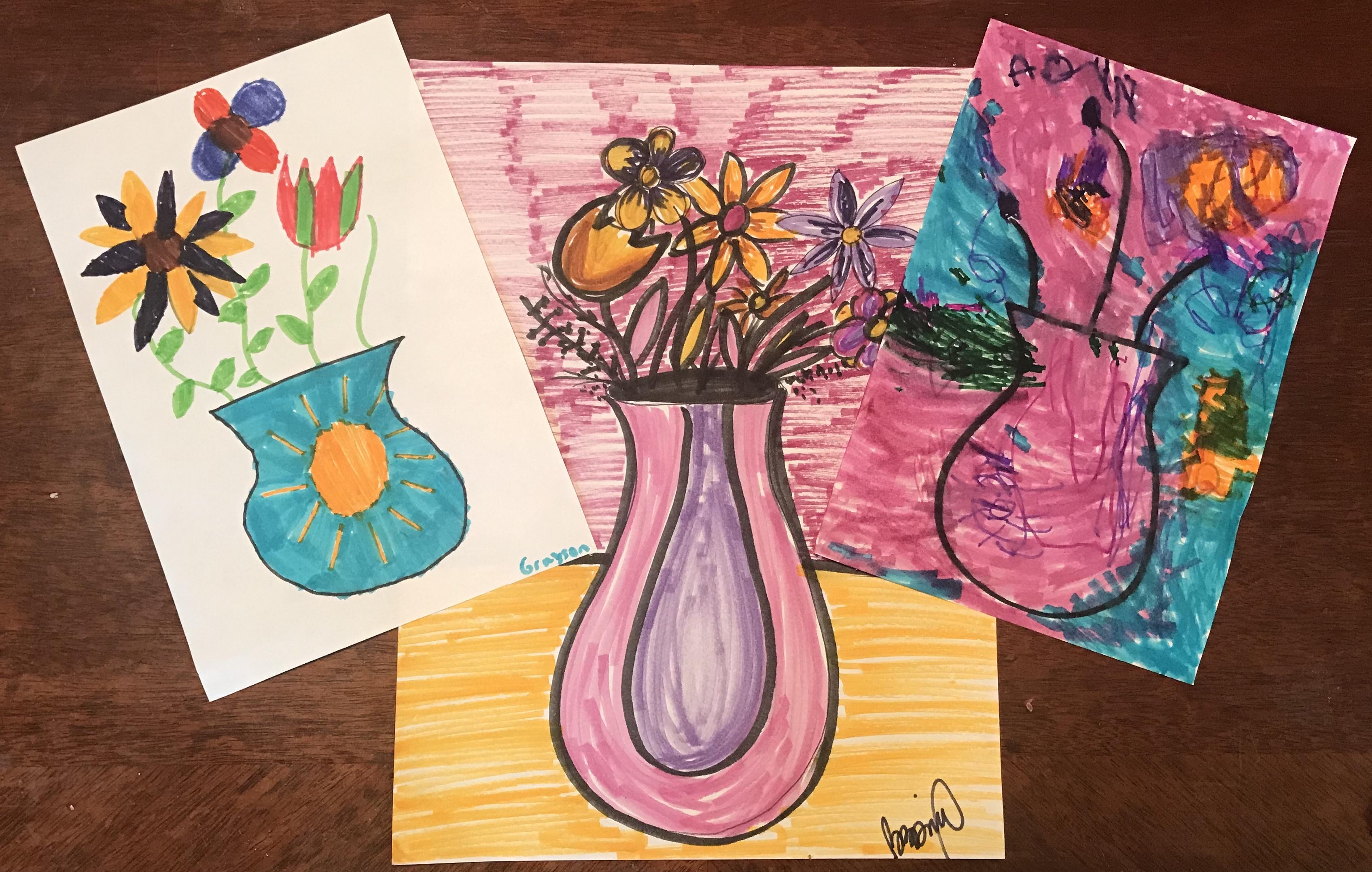 va Gogh Flowers