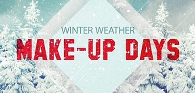 Winter Weather Make-Up Days