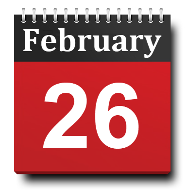 February 26