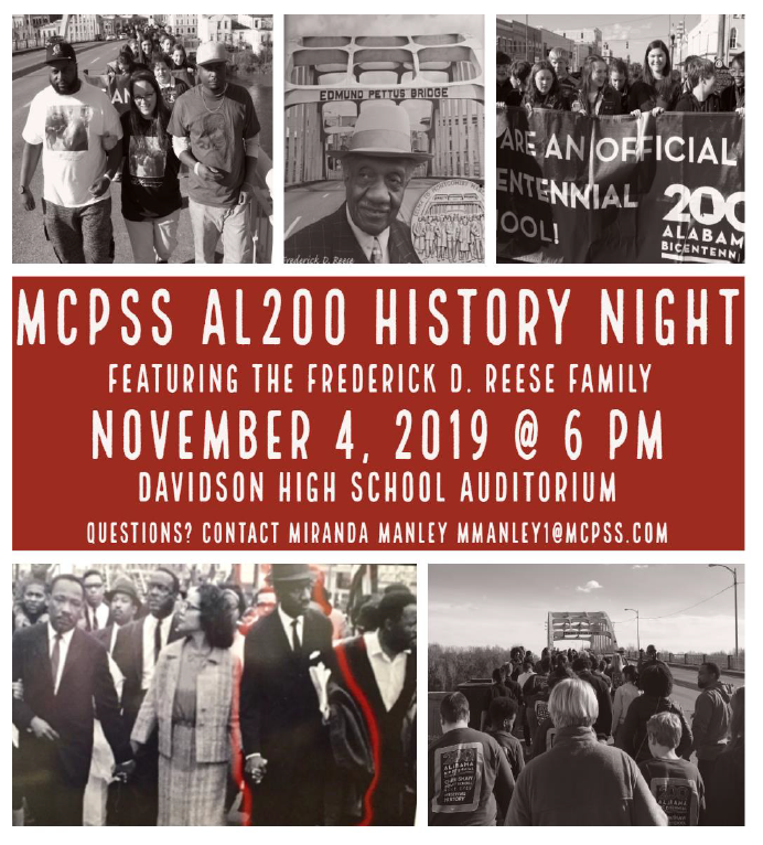 History Night Flyer