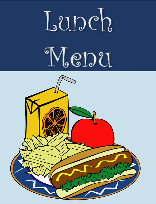 Lunch Menu link