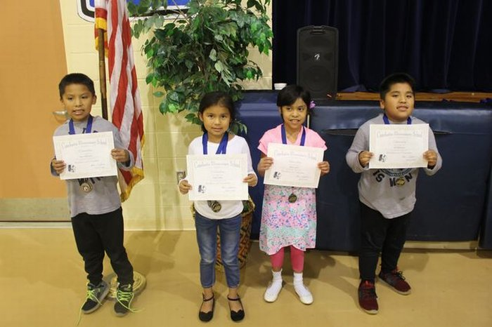 More AwardsPerfect Attendance and Citizenship