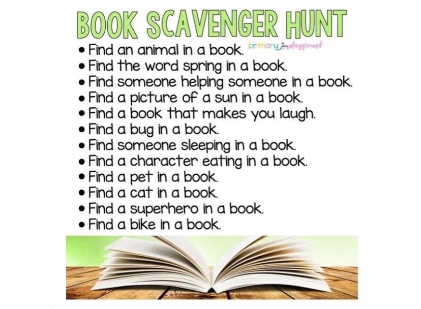 Week 4 Scavenger Hunt