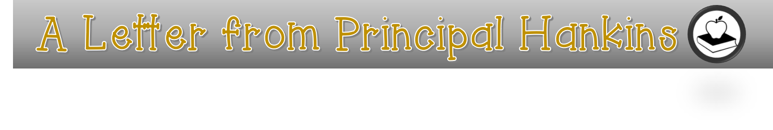 Letter from Principal Hankins