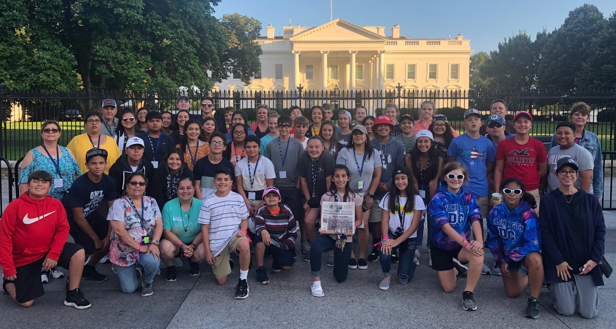 McDowell Students tour Washington DC