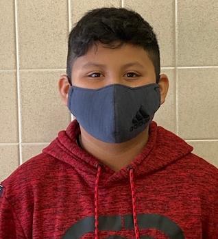 6th Grader Kevin Gonzalez