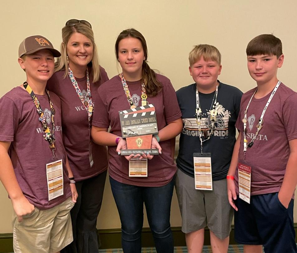 WCJHS National Beta Club Participants