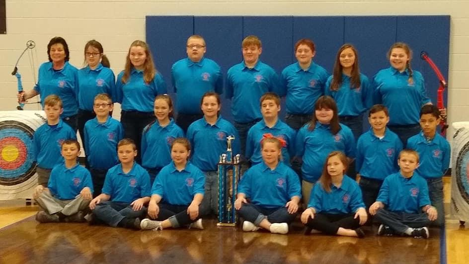 elementary archery team