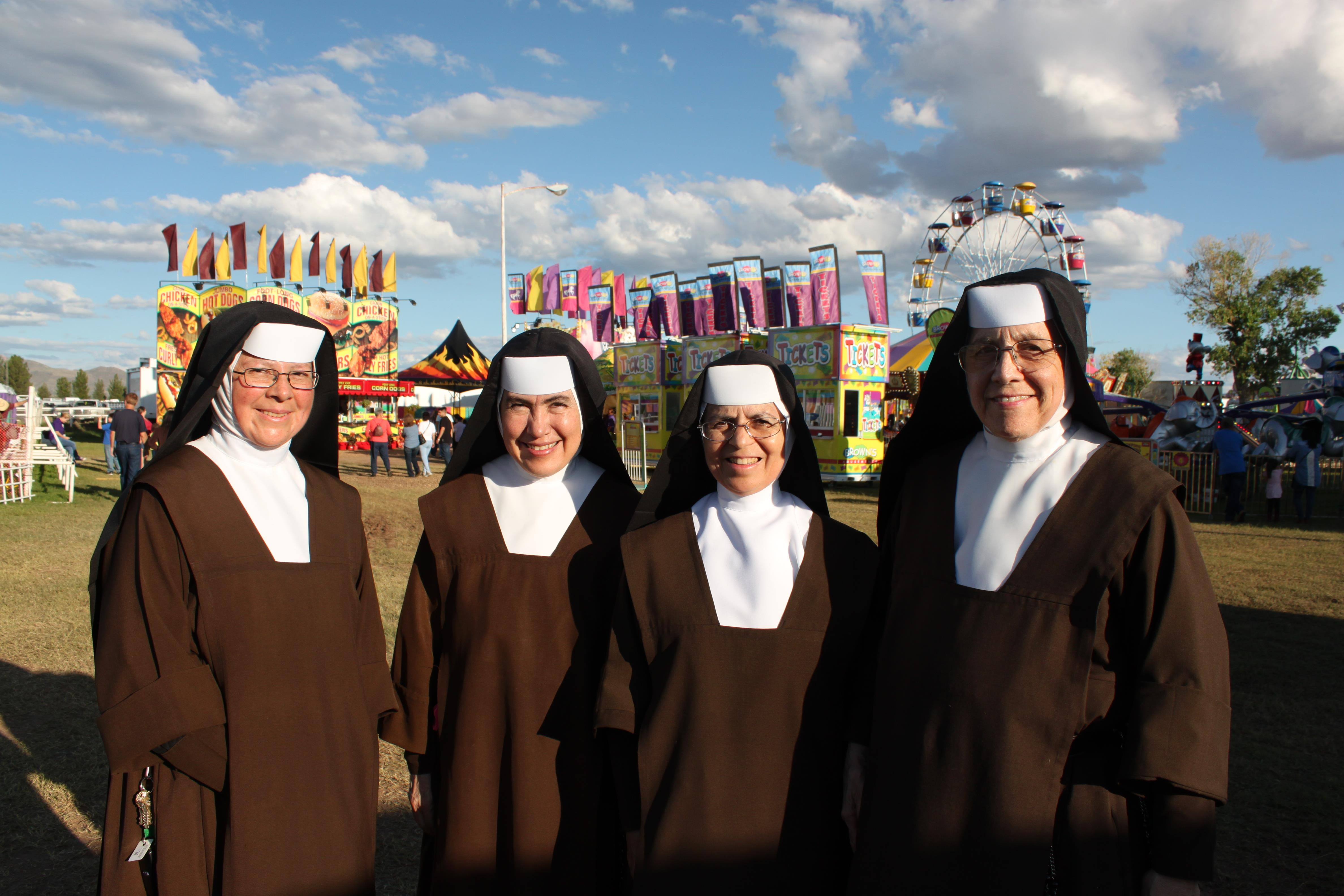 Sisters at the County Fair