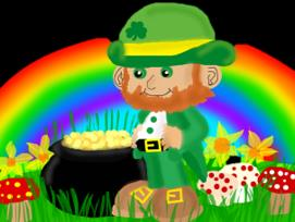 Our Leprechaun and his pot of gold