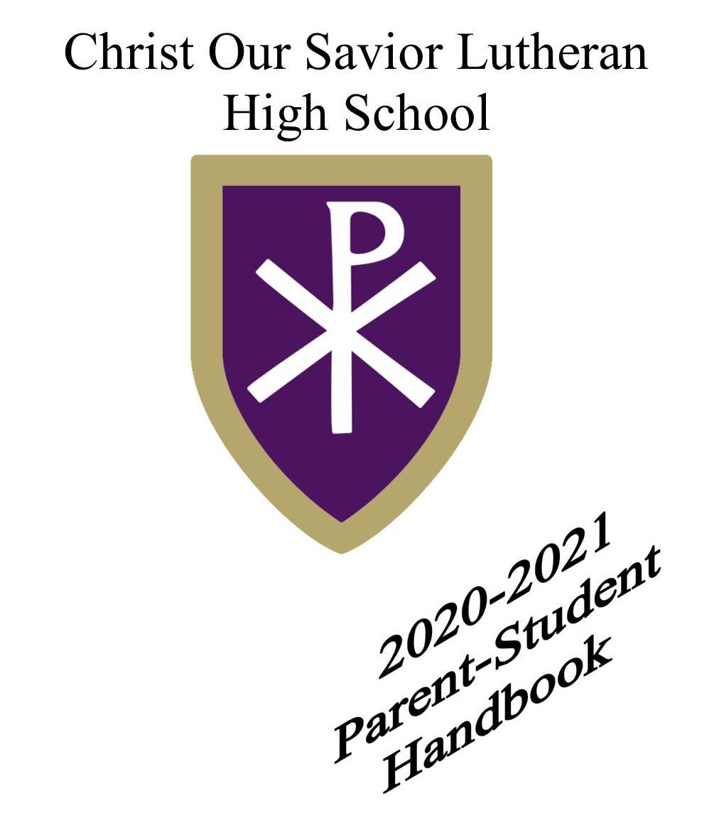 Student Handbook 2020-2021