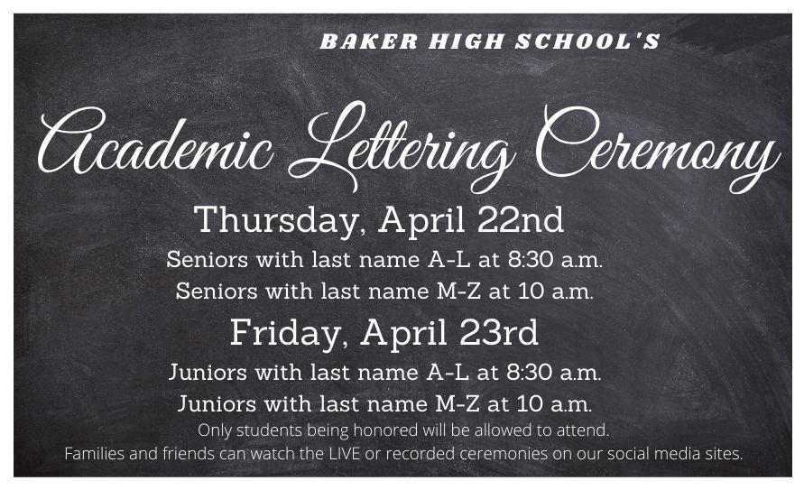 Academic Lettering