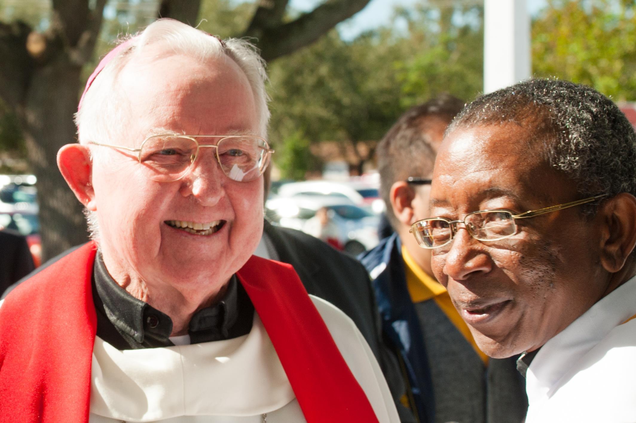 Bishop Snyder, Fr. Parker