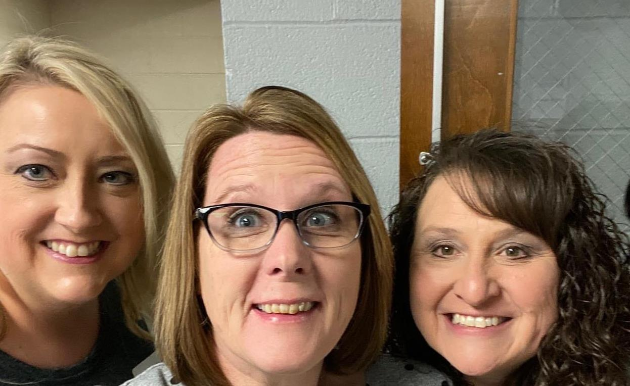 Interview Day; Mrs. Scott, Mrs.Kelley & Mrs. Cross