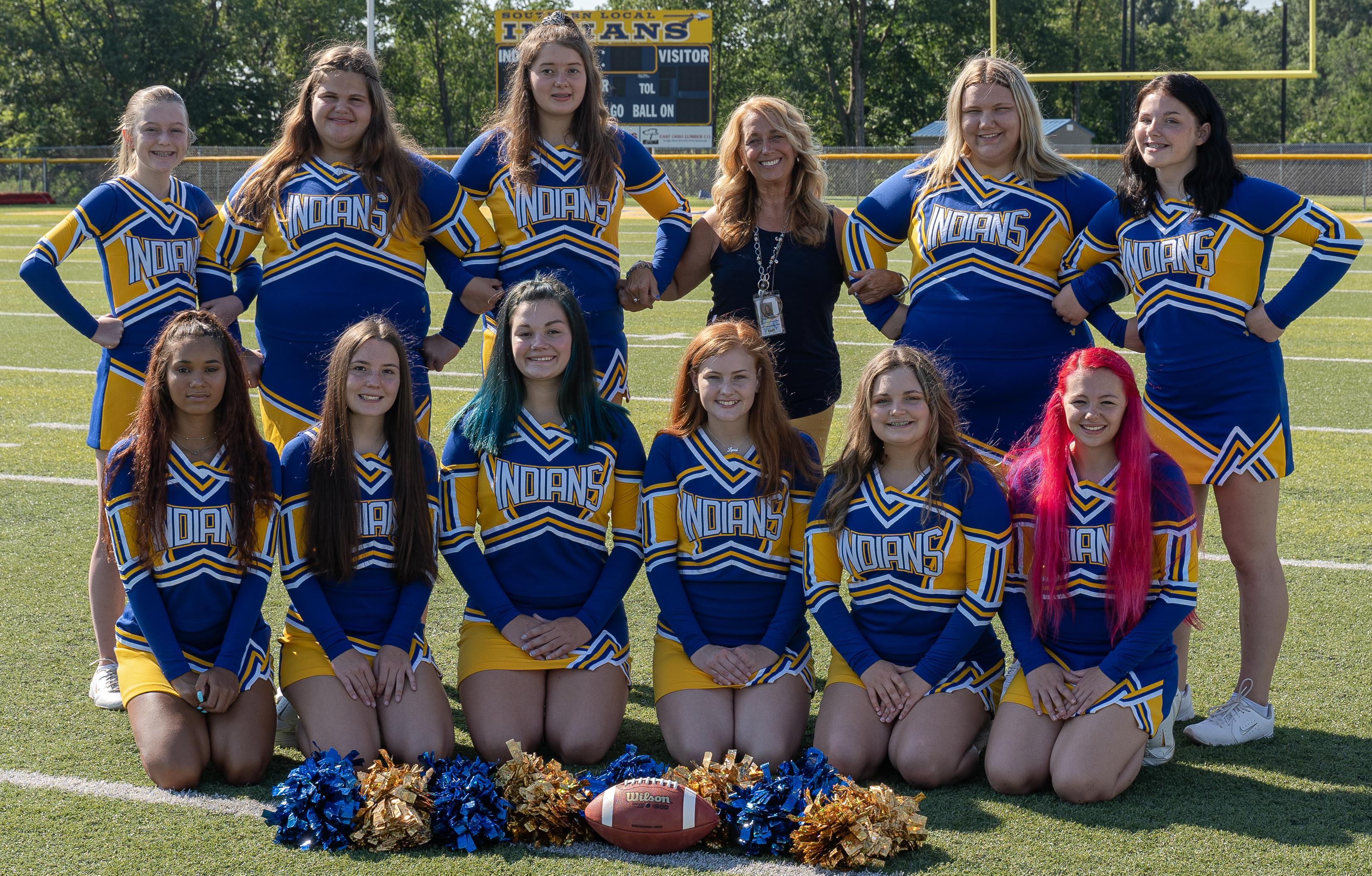 2020 Varsity Cheer Squad