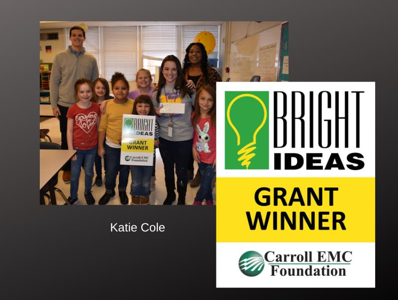 Bright Ideas Grant Winner with Students