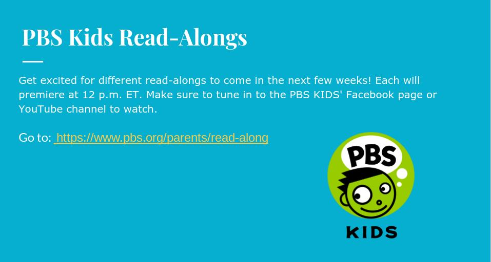 PBS Kids Read-Alongs