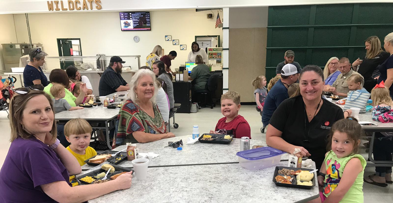 WSH Lunchroom on Tremendous Tuesday