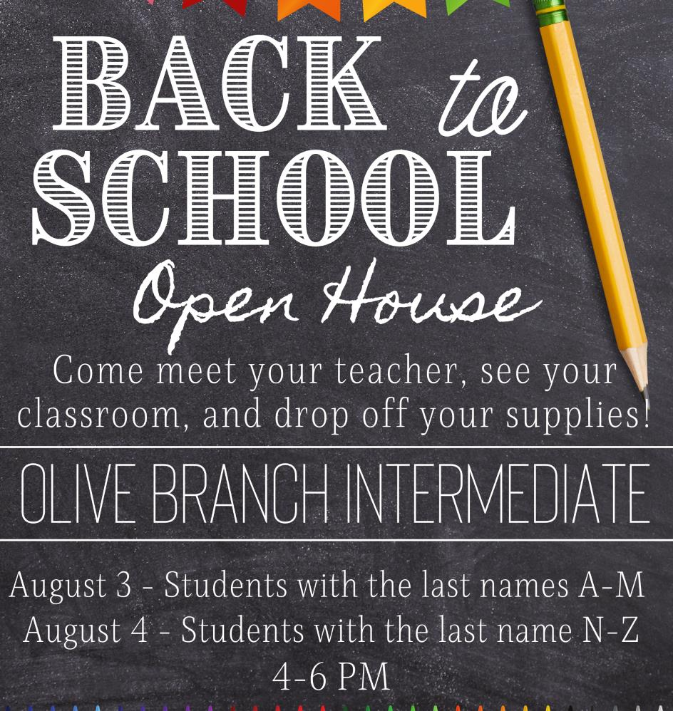 OBIS Open House - August 3rd & 4th