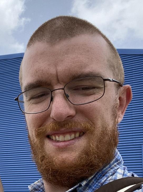 Close-up of Alan Dupree