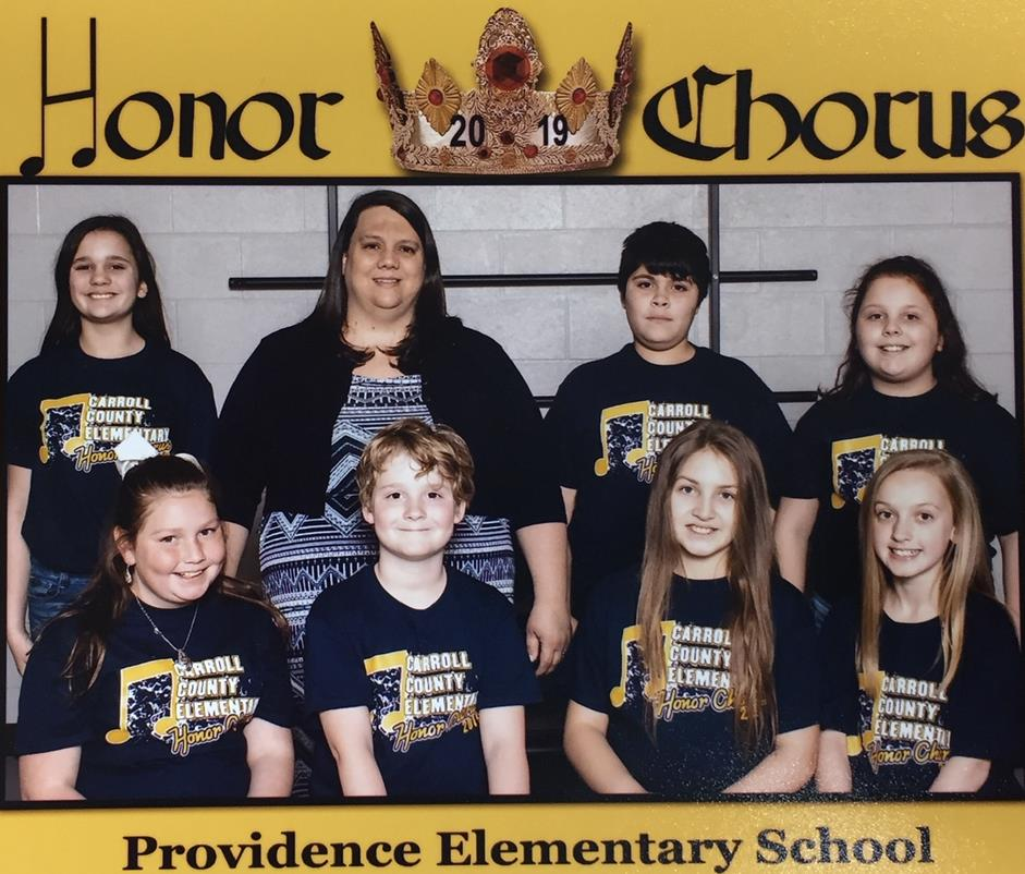 Honor Chorus Students