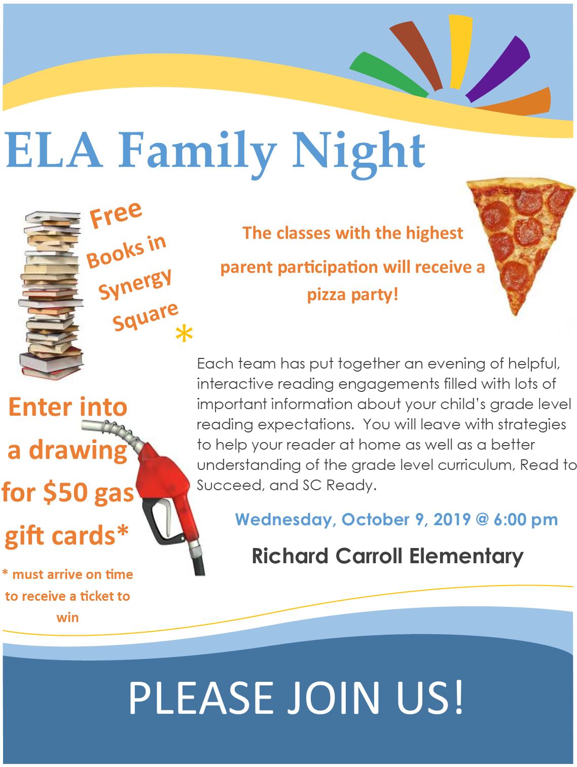 ELA Family Night
